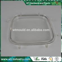 Custom high quality mold plastic transparent optic mould making