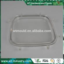 Custom molde de plástico de alta qualidade molde óptico transparente fazendo