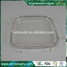 Изготовленная на заказ прессформа прессформы высокого качества прозрачная оптически делая