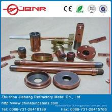 W80cu20 de contato ponta tungstênio com ISO 9001 de Zhuzhou Jiabang