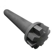 Degassing graphite shaft rotor Impeller for Aluminium Degassing