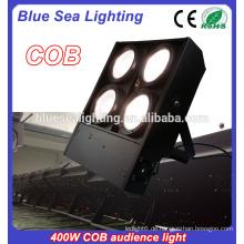 4 Köpfe 4X100w cob geführtes Publikum blinder Licht