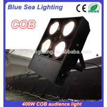 4 heads 4X100w cob led audience blinder light