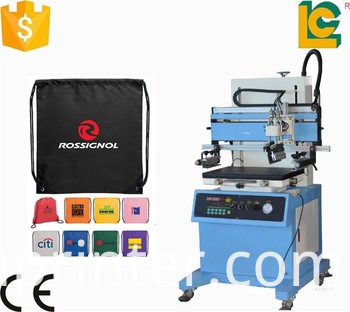 vacuum table screen printing machine