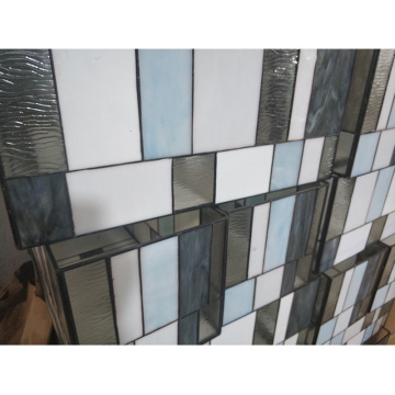 Tempered Laminated Window Glass Flower Pattern Frosted Building Art Decorative Glass