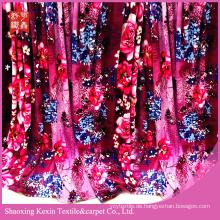 Großhandel 100% Polyester bedruckten Stoff Flanell