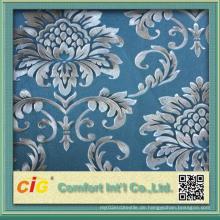 Druck und Prägung Design PVC Tapete Made in China