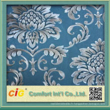 Impression et gaufrage Fond d'écran en PVC réalisé en Chine