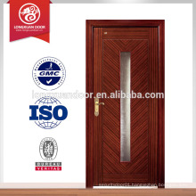 Interior Glass Design Wood Door,Bedroom Interior Solid Wood Door