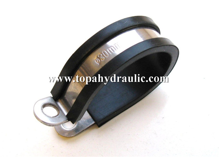 Parallel hdpe pipe quick release stainless steel clamp
