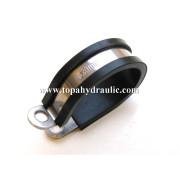 High pressure P type carbon hose clamp