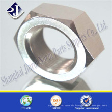 Hochfeste ASTM A194 2H Kohlenstoffstahl schwere Sechskantmutter