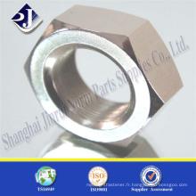 Noix hexagonale lourde ASTM A194 2H haute résistance