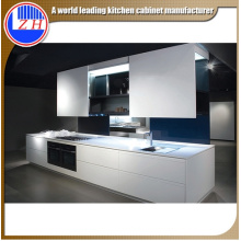 Glossy Wooden Two Packed Lacquer Kitchen Cabinet (ZHUV)
