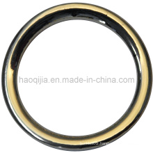 Zinc Alloy Circle for Garment -20128
