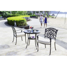 Popular Patio Waterproof decorative metal outdoor furniture