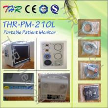 Thr-Pm-210L Moniteur patient médical portatif d'hôpital technique élevé