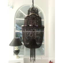 Hotel Project Black Chain Pendant Hanging Lamp (KA180)