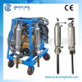 Single Cylinder with Electric Pump Pack Hydraulic Splitter
