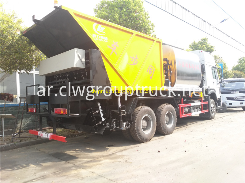 Synchronous Sealer Gravel Truck 7