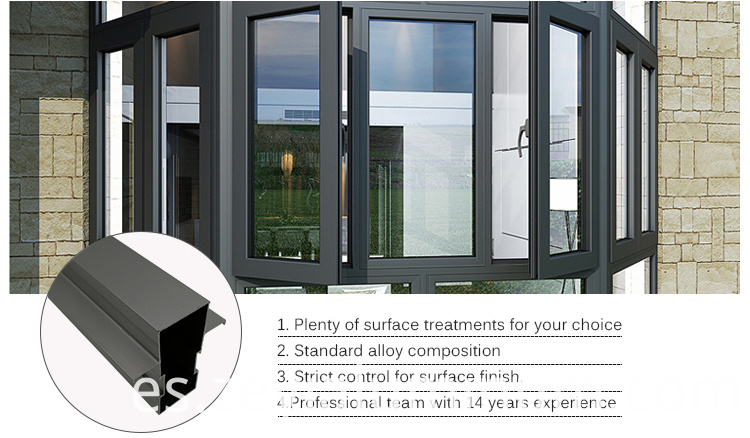 Casement Of Aluminum Profile Door And Window