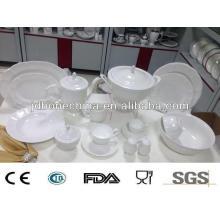 Comida arroz fruta oro azúcar blanco cuerpo gres porcelana cerámica porcelana china fabricante