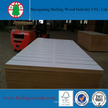 White Color Melamine MDF Board