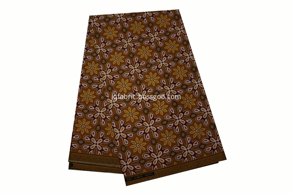 Spandex african wax printed polyester fabric