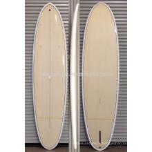2016 Chaud !!!! Placage de bambou résine époxy en fibre de verre SUP paddle board / planche de surf en bois
