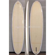 2016 Hot!!!! Bamboo veneer epoxy resin fiberglass SUP paddle board /wood surfboard