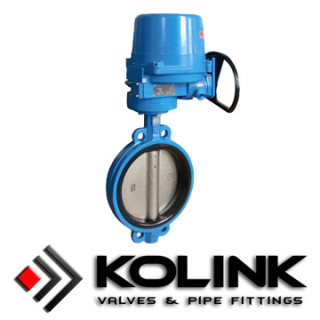 Top for Pneumatic Actuated Butterfly Valve Electric Actuated Butterfly Valve export to North Korea Factories