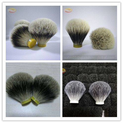 Different Badger Hair Shaving Brush Knots