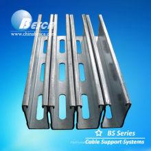 Galvanized Lip Channel Steel (UL, SGS, IEC y CE)