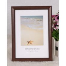 Frame plástico com grão de madeira (M-BD2025)