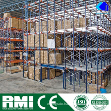 High Density Radio Shuttle Electric Mobile Pallet Rack