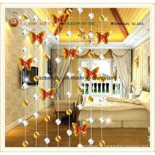 Cortina de moda para a cortina de vidro/decorações Deco