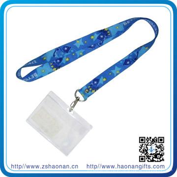 Fashion Business Polyester ID Card Holder Lanyard
