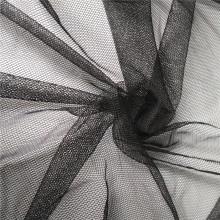 Tissu de maille de filet de tulle doux hexagonal pour rideau