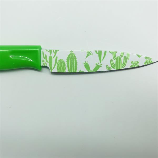 cacti pattern knife