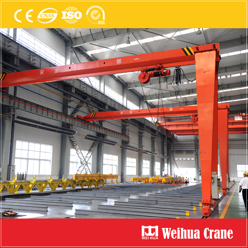 Single Girder Semi Gantry Crane