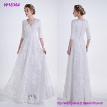 New A Line Wedding Dress Sweetheart Neck Lace up Back Cheap Tulle Bride Dresses