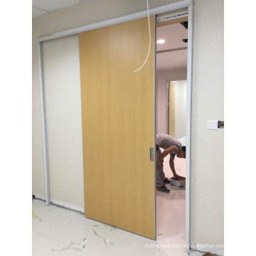 Porte en bois composite de qualité stable HDF, porte de cuisine à haut brillant