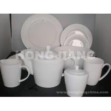 Ensemble de dîner en ossée en Chine (HJ068011)