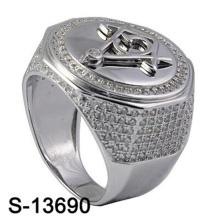 Alta Qualidade Moda Jóias Anel De Prata 925