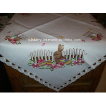 Lovely Rabbit Easter Tablecloth Fh232