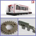 1000W acero inoxidable y acero al carbono y corte de aluminio del laser con la protección completa y la mesa de trabajo del intercambio con la certificación del CE