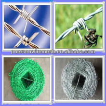 BTO-22 Hot Dipped Galvanized Double Twisted Barbed Wire
