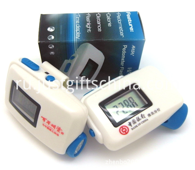 Promotional branded Jogger Pedometer
