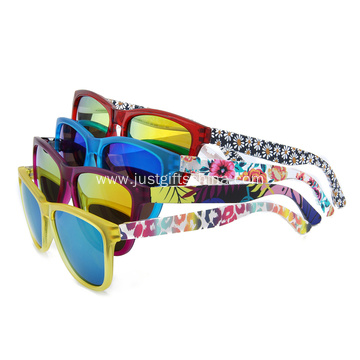 Custom Promotional Sunglasses With Full Color Printed
