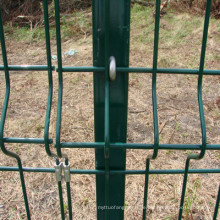 PVC geschweißte Rahmen Zaun Panel niedrigen Preis